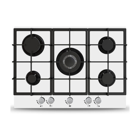 ART28944 70CM WHITE GAS ON GLASS HOB $$$