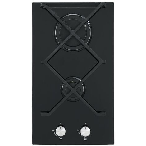 ART28954 30CM DUAL BURNER GAS ON GLASS HOB