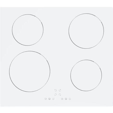 ART29172 60CM WHITE INDUCTION HOB