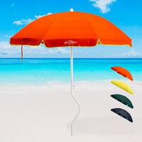 ARTEMIS GiraFacile® 200cm Patented Cotton Beach Umbrella