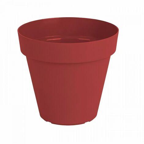 ARTEVASI Pot de fleurs Capri - 60 cm - Rouge foncé