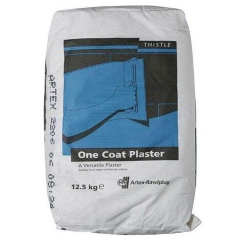 Artex 5200160161 Thistle One Coat Plaster 12.5kg