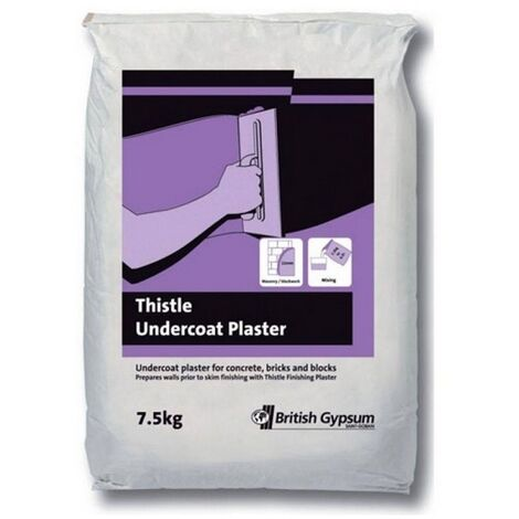 Artex 5200160165 Thistle Undercoat Plaster 7.5kg