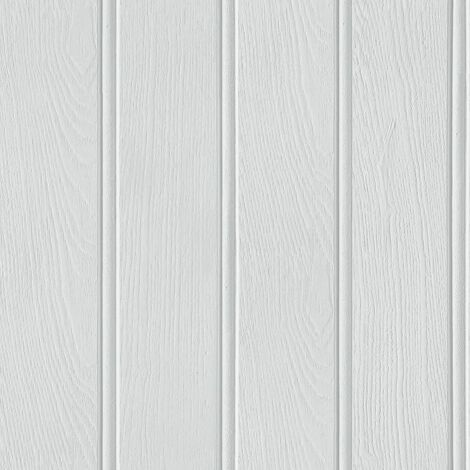 """main image of """"Arthouse 694300 Tongue & Groove Wallpaper, Grey"""""""