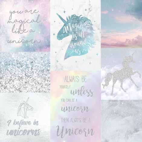Arthouse Believe In Unicorns Wallpaper 698300