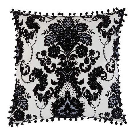 Arthouse Boutique Vasari Dalmatian Flock Cushion Cover with Bobble Edge
