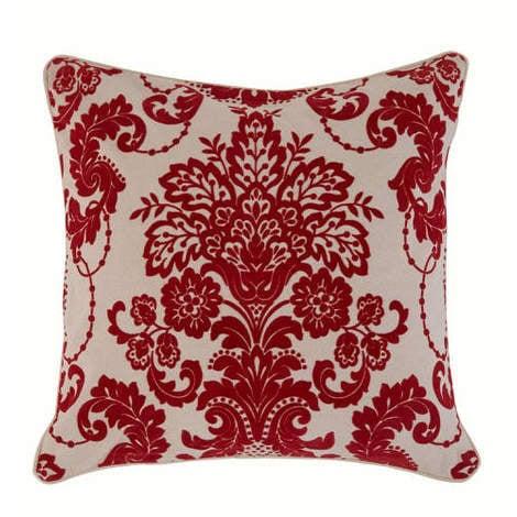 Arthouse Boutique Vasari Rococo Flock Cushion Cover