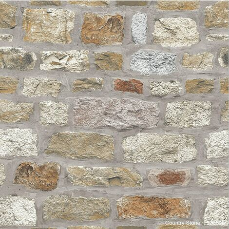Arthouse Country Stone Wallpaper