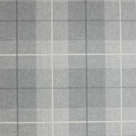 Arthouse Country Tartan Grey Wallpaper