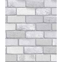 Arthouse Diamond Brick Vinyl Wallpaper