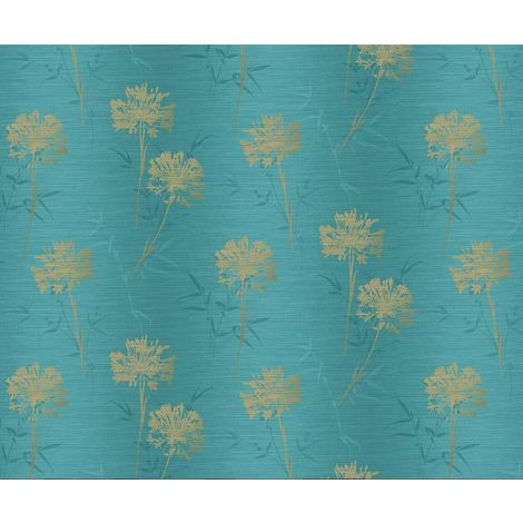 Arthouse Eastern Alchemy Wallpaper Kimora Teal 293002