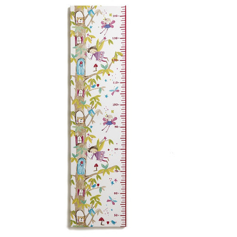 Arthouse Enchanted Fairies Height Chart Printed Canvas 100cm x 25cm 004175