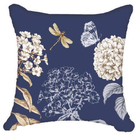 Arthouse Enchantment Cushion Cover Night Owl Blue 008298