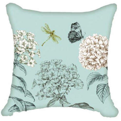 Arthouse Enchantment Cushion Cover Night Owl Duck Egg 008296