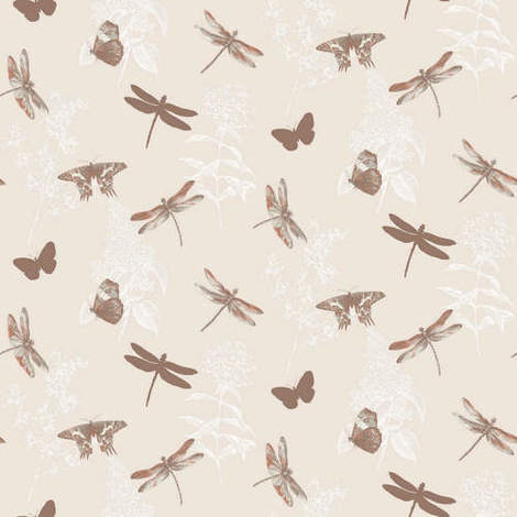 Arthouse Enchantment Wallpaper Enchanted Wings Copper 664901