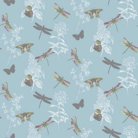 Arthouse Enchantment Wallpaper Enchanted Wings Teal 664902