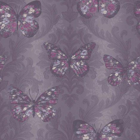 Arthouse Enchantment Wallpaper Midsummer Plum 661205