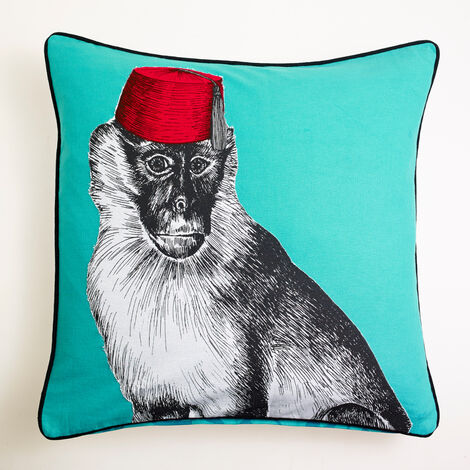 Arthouse Filled Cushion 50x50cm Monkey