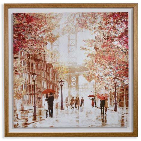 Arthouse Framed Canvas Gramercy Park 004411