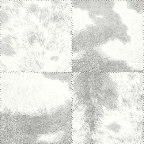 Arthouse Hideaway Squares Grey Wallpaper
