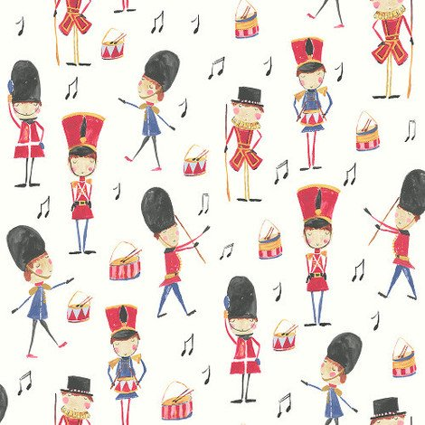 Arthouse Imagine Fun Wallpaper Drummer Boy Red 696003