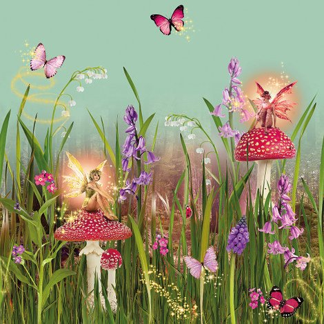 Arthouse Imagine Fun Wallpaper Frieze Magic Garden 696301