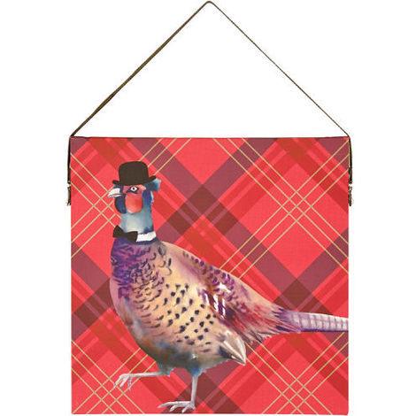 Arthouse Lochs & Lagoons Canvas Red Pheasant