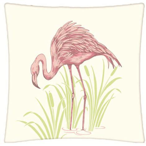 Arthouse Lochs & Lagoons Embroidered Cushion Lagoon Pink