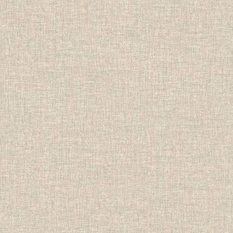 Arthouse Natural Linen Texture Smooth Faux Fabric Plain Pattern Wallpaper 901704