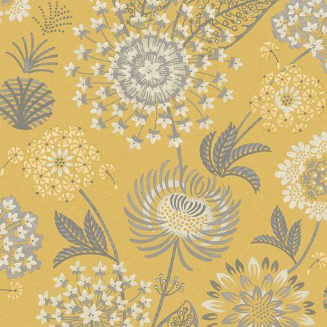 Best Price Yellow Flower Wallpaper