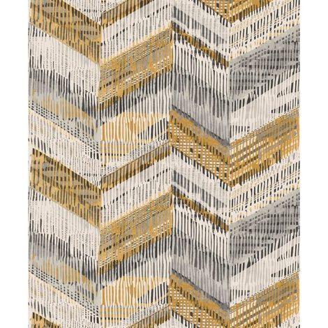 Arthouse Paste The Wall Wallpaper Chevron Weave