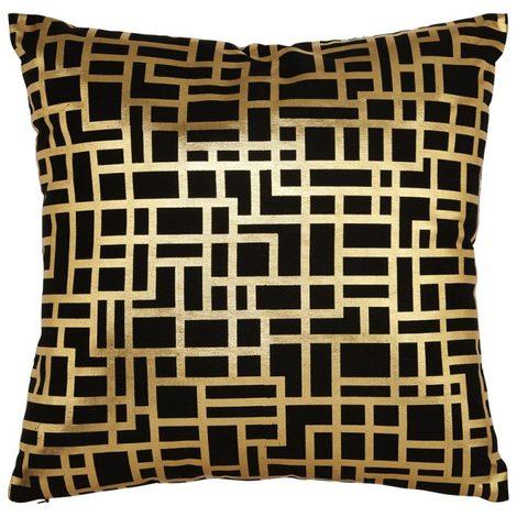 Arthouse Satoni Metallic Cushion/Pillow