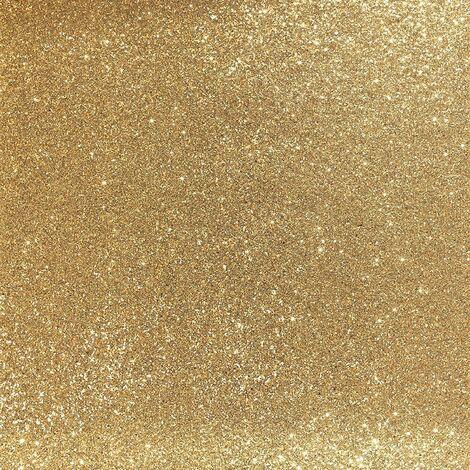 Arthouse Sequin Sparkle Metallic Glitter Shiny Glamour Wallpaper Gold 900902