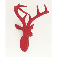 Arthouse Star Studded Stags Head Ruby 008220