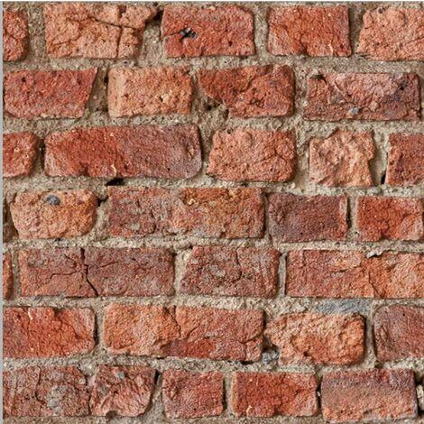 Arthouse Urban Brick Wallpaper, Red - 696600