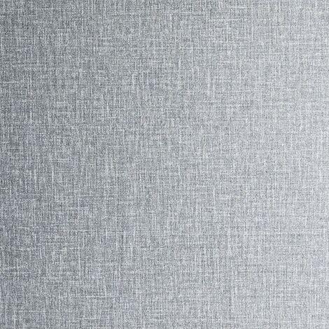 Arthouse Wallpaper 295400 Luxe Hessian Mid Grey