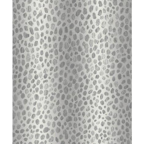 Arthouse Wallpaper 903101 Leopard Skin Silver Full Roll