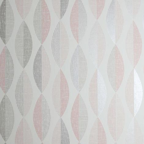 Arthouse Wallpaper Aziza Geo Blush 907507