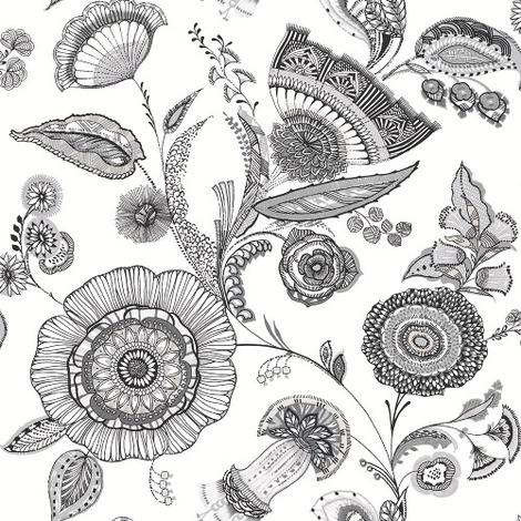 Arthouse Wallpaper Catarina Black & White 690800