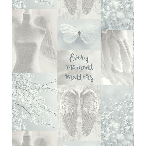 Arthouse Wallpaper Daydreamer Grey Multi 692800