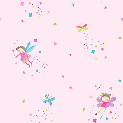 Arthouse Wallpaper Fairy Dust Pink 667100