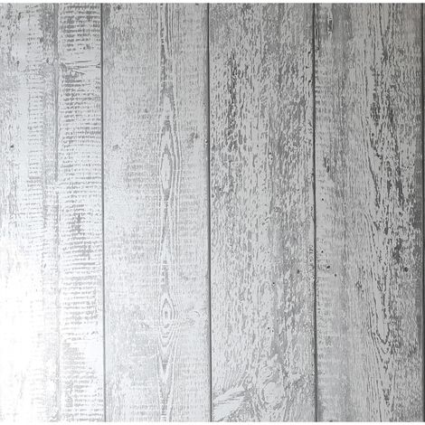 Arthouse Wallpaper Foil Wood Mono 903807 Full Roll
