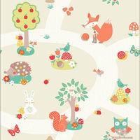 Arthouse Wallpaper Forest Friends Neutral 667201