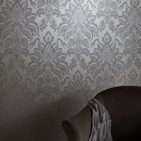 Arthouse Wallpaper Glisten Platinum 673203