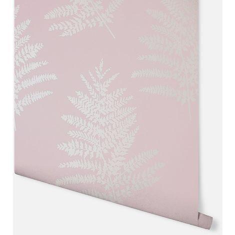 Arthouse Wallpaper Metallic Fern Blush 687000