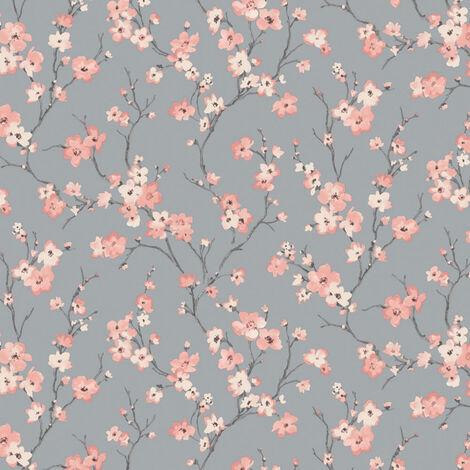 Arthouse Wallpaper Oriental Blossom Pink 906704 Full Roll