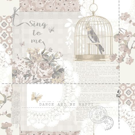 Arthouse Wallpaper Sing To Me Natural 671301 Full Roll