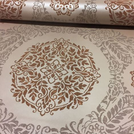 Arthouse Wallpaper Timour Copper 673700