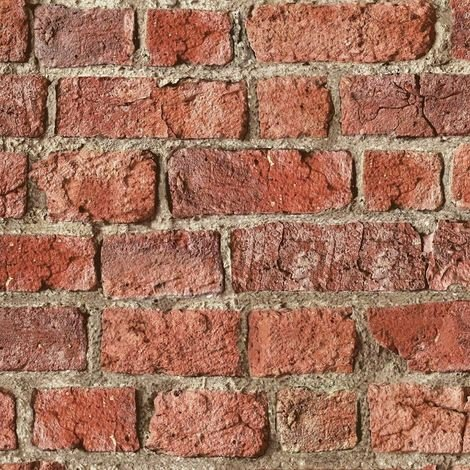 Arthouse Wallpaper Urban Brick Red 696600
