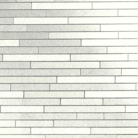 Arthouse Wallpaper Vinyl Slate White 903009 Full Roll